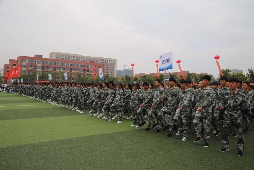 皖北经济技术学校校园环境